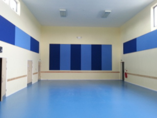 Acoustic Wall Panel supplied and fitted by PB Ceilings and Partitions Ltd